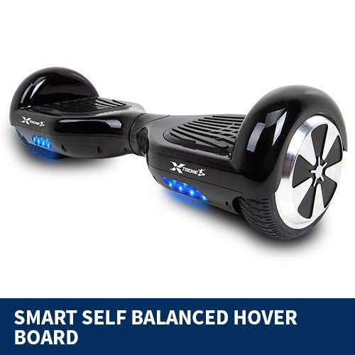 stylish black hoverboard