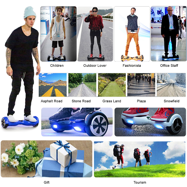 hoverboard black 8inch3
