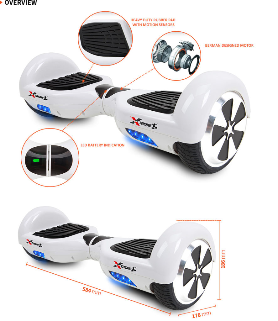 6.5 classi white hoverboard8