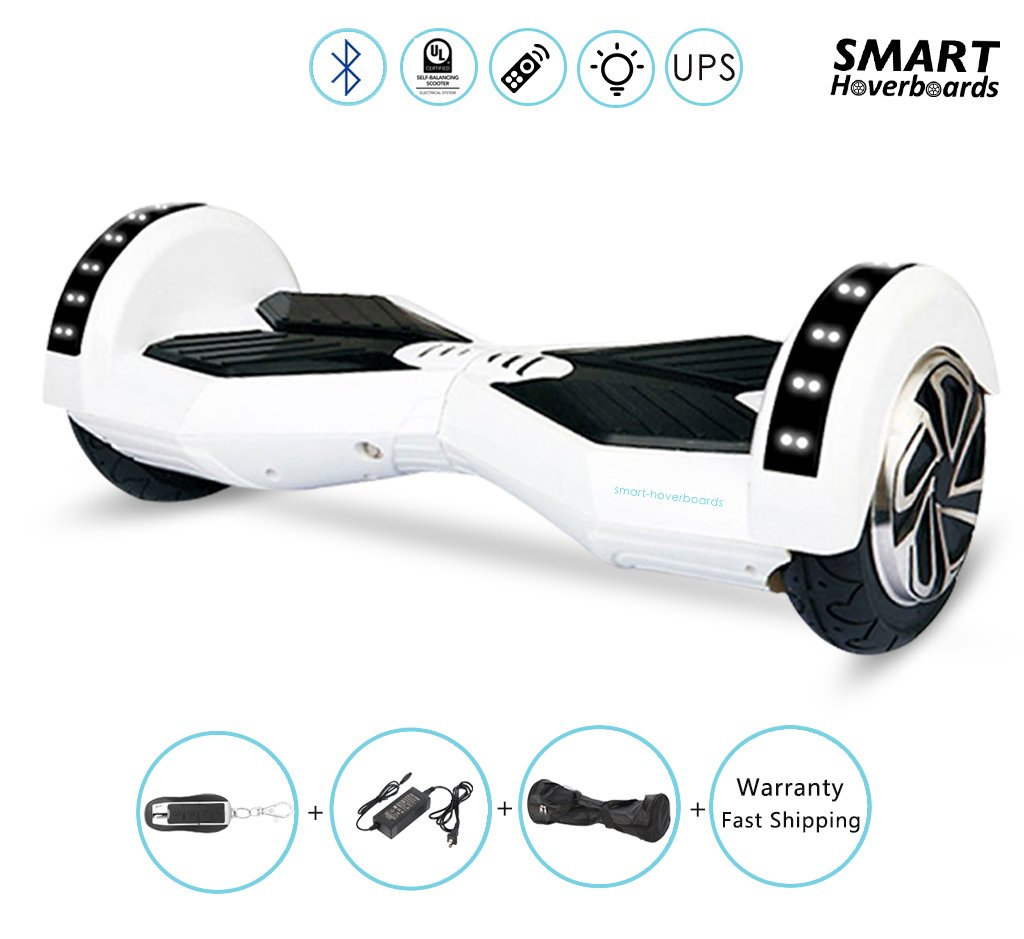 8 inch hoverboard white
