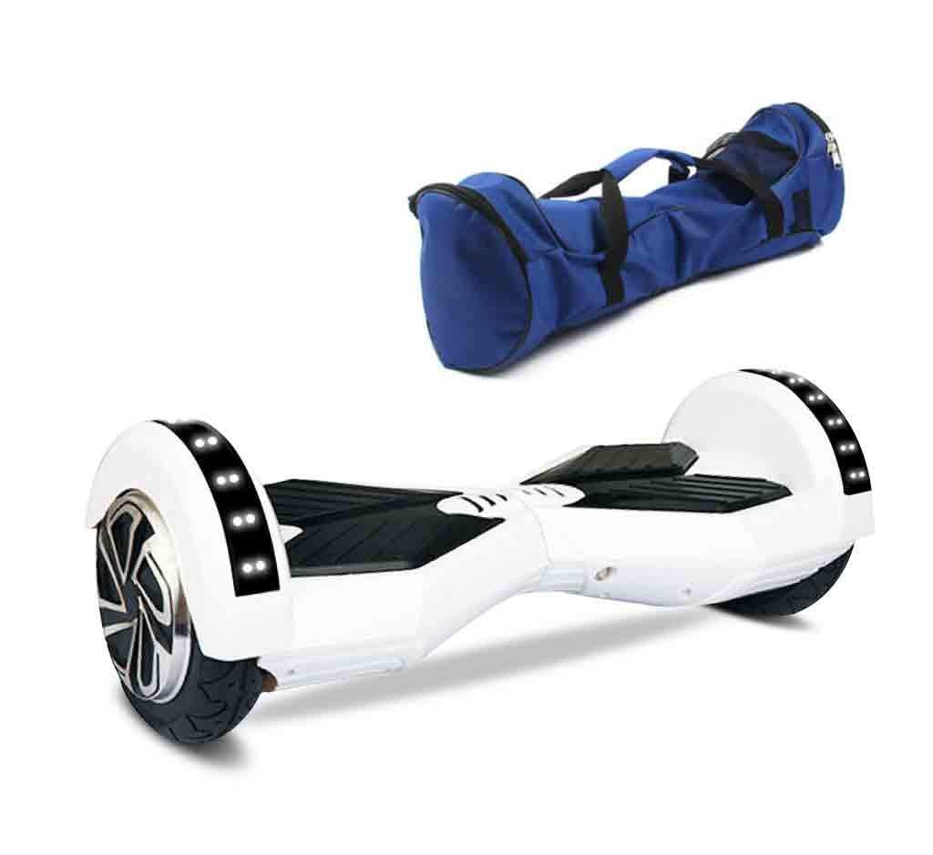 8 inch hoverboard white1