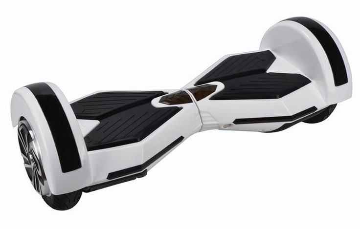 8 inch hoverboard white2