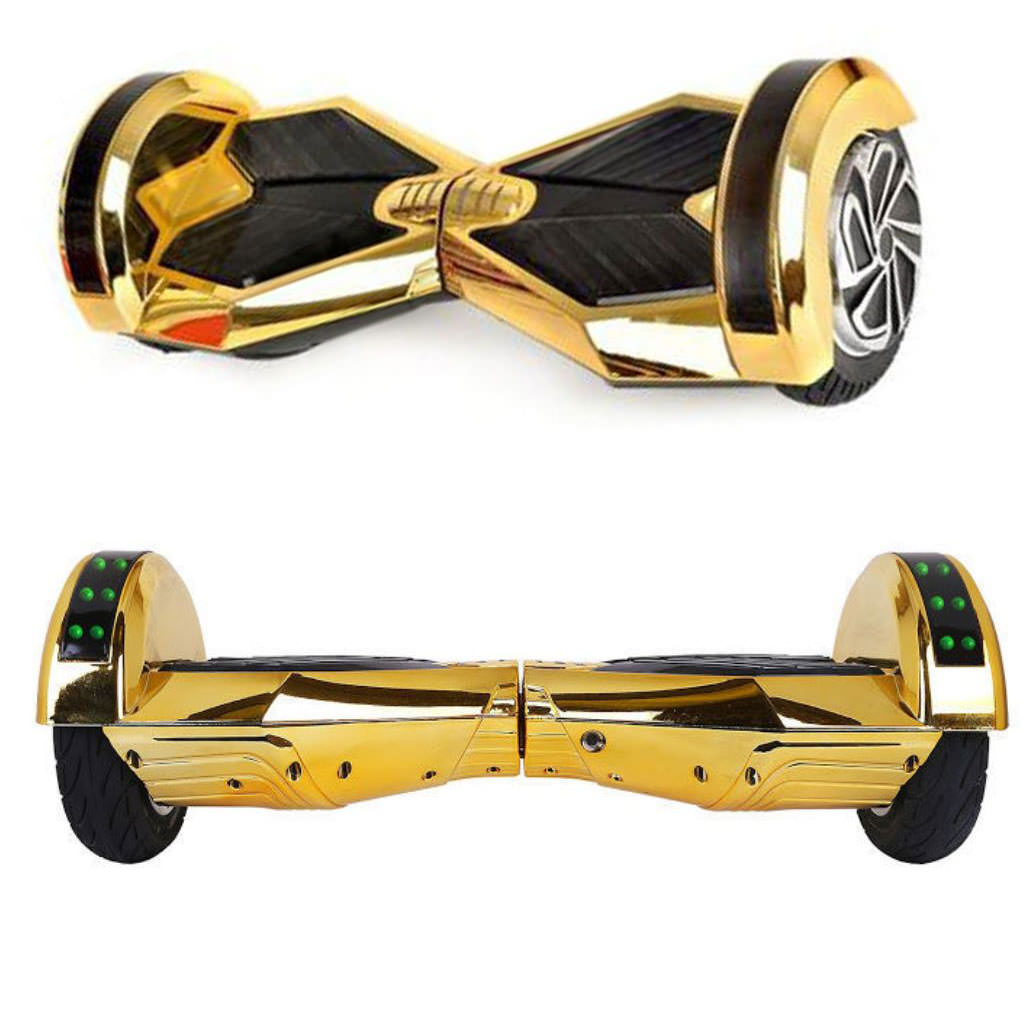 hoverboard 8 inch gold4